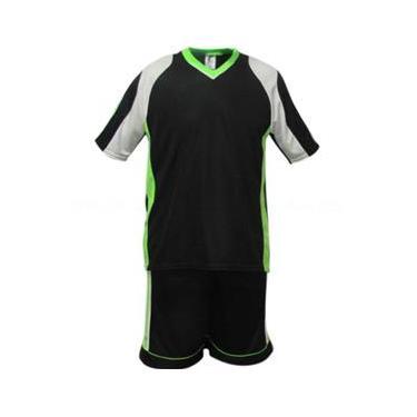 Uniforme Esportivo Texas 1 Camisa de Goleiro Florence + 10 Camisas Texas +10 Calções - Preto x Branco x Limão