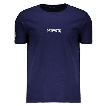 f7abd30b2e Camiseta New Era NFL New England Patriots Marinho
