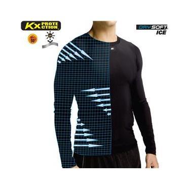 Camisa Térmica Alta Compressão UV 50 Manga Longa