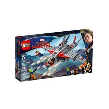 LEGO Super Heroes - Marvel - Captain Marvel e o Ataque do Skrull - Disney - 76127