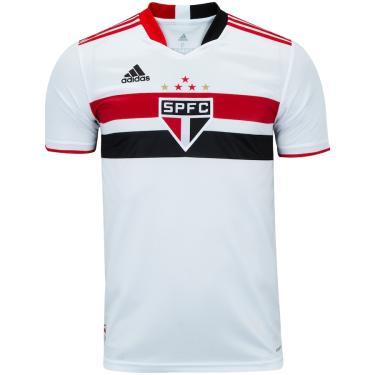 Camisa do São Paulo I 2021 adidas - Masculina adidas Masculino