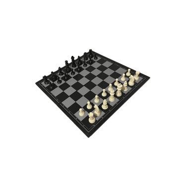 Jogo De Xadrez Magnético 19,5 X 19,5 Cm