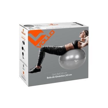 Bola Suíça Ginástica Pilates Com Bomba 65cm Até 300kg Vollo