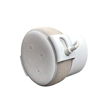 Suporte Splin para Echo Dot 3 modelo all-in-one de Tomada (branco)