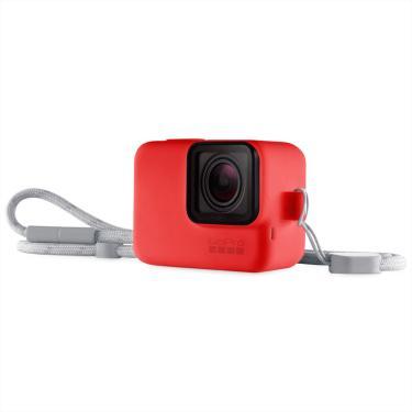 Imagem de Capa Protetora GoPro com Cordão - Vermelha ACSST-005