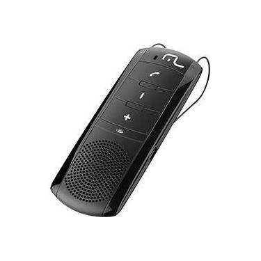 Kit Viva Voz Bluetooth Multilaser Preto