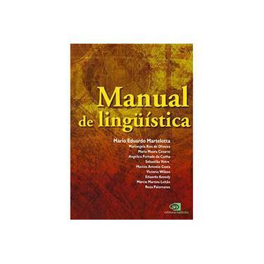 Manual de Lingüística - Martelotta, Mário Eduardo - 9788572443869