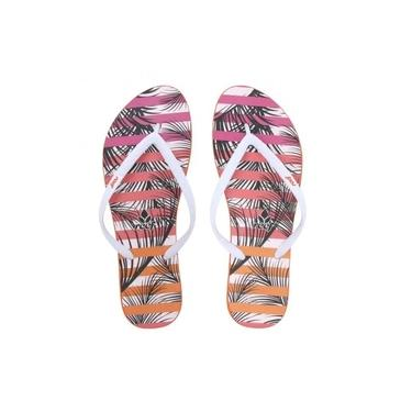 Chinelo Escape Palm Stripes Pink - Reef