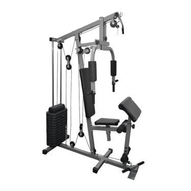 Imagem de Estação De Musculação Aparelho Ginástica Com 80Kg Fitt10
