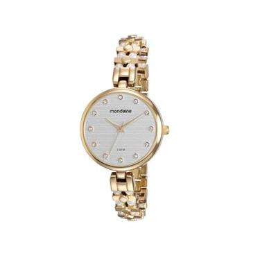 894ed6c6358 Relógio Feminino Analógico Mondaine 76595LPMVDM1 – Dourado