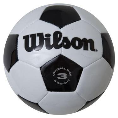 Bola Futebol Tradicional No. 3 Oficial - Wilson ac41feb00bcd2