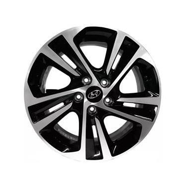 Jogo de Rodas Hyundai Creta Prestige 2020 Aro 16 x 6,0 5x114,3 ET40 S14 Preto Diamantado