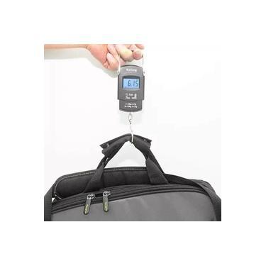 Imagem de Balança LCD Digital De Mão Mala 50kg/10g Portátil Precisão