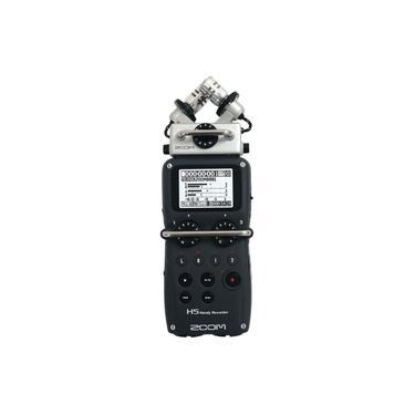 Gravador Digital Zoom H5 4 Canais + Case + Acessórios + 2GB