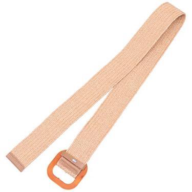 VALICLUD Mulher Cinto de Tecido Elástico Cinto Largo para As Mulheres Da Cintura Cinto Trecho Cinto Cós Mulheres Novidade para As Mulheres Senhoras (Cáqui)