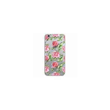 16093655b3 Capa Capinha QUARK Transp para Apple IPhone 6 - ROSAS ROSADAS