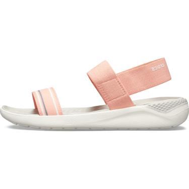 Sandália Crocs Literide Slide Salmão  feminino