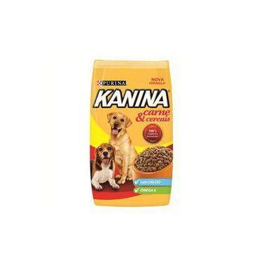 Ração Kanina Para Cães Adultos Sabor Carne E Cereais - 15kg
