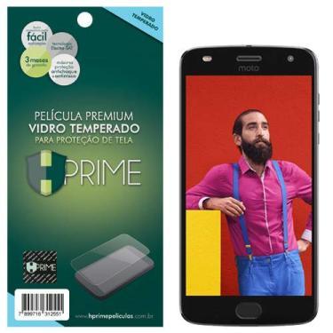 Pelicula de Vidro Temperado 9h para Motorola Moto Z2 Play, HPrime, Película Protetora de Tela para Celular, Transparente