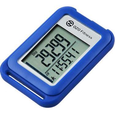 Pedômetro Digital OZO Fitness SC 3D | Melhor pedômetro para andar. Acompanhar etapas e milhas, calorias e tempo de atividade. Clipe no Step Counter para Homens, Mulheres e Crianças (Lanyard Incluído)
