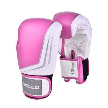 a6d95dbfc5 Luva de Boxe Vollo Training 14 Oz Rosa
