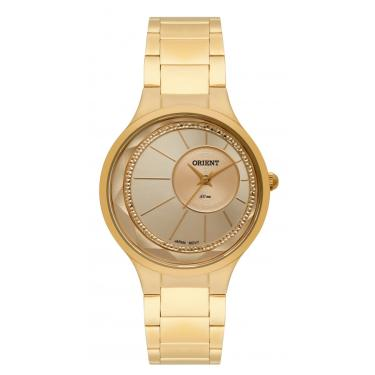 1354eee3f24 Relógio Feminino Orient Analógico FGSS0116C1KX - Dourado