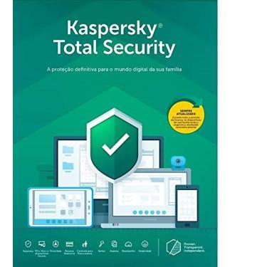 Kaspersky Total Security - 5 Dispositivos, 1 Ano - Entrega Digital