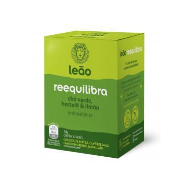 Chá Leão Funcionais Reequilibra 10x18g