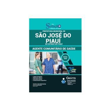 Imagem de Apostila São José do Piauí PI - Agente Comunitário de Saúde