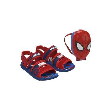 Sandália Marvel Pack Homem Aranha Com Mochila 22368