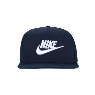 cf96c08bf66a4 Boné Aba Reta Nike Sportswear Futura Pro - Snapback - Adulto - AZUL  ESC BRANCO