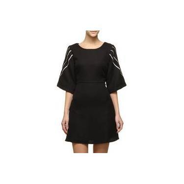 Vestido By NV Tweed Viés