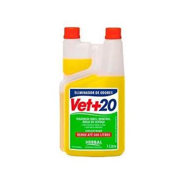 Eliminador de Odores Vet+20 Herbal - 1L