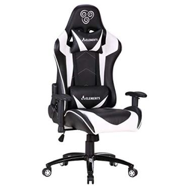 Cadeira Gamer Elements Gaming Veda AER Branco
