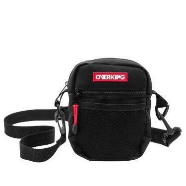 Bolsa Lateral Shoulder Bag Overking V1 Preto  unissex