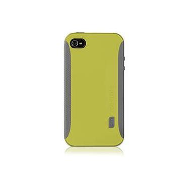 "Capa de Plástico Rígido com Laterais Emborrachada ""POP"" para iPhone 4 - Amarela - Case Mate"