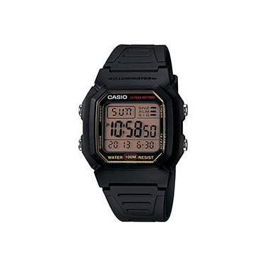 3b1a6342acb Relógio Masculino Casio Digital Social W-800HG-9AVDF