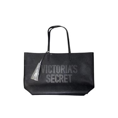 Bolsa Shoulder Bag Victorias Secret Preta