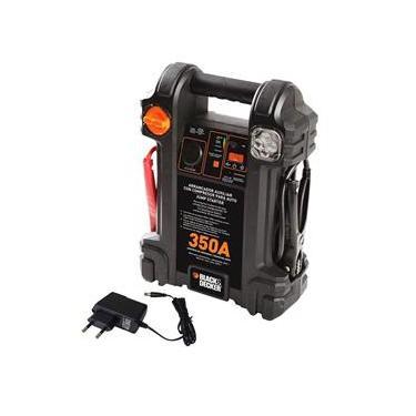 Auxiliar De Partida E Compressor Js350 350a 12v Black Decker