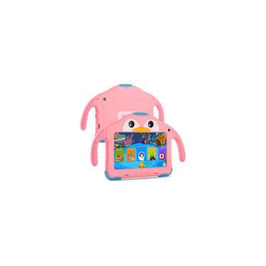 Imagem de Tablet para Crianças Tablet Android Kids Tablet com WiFi Dual Camera 1GB 16GB Armazenamento 1024 x 600 ips Tela Controle parental Modo Google Playstore YouTube Netflix para Meninas De Meninos Android 10