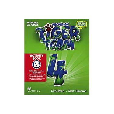 Tiger Team - Activity Book - Level 4 - Ormerod,mark - 9786685727326
