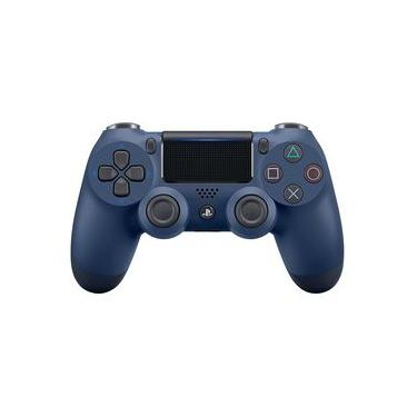 Controle Playstation 4 Sony Dualshock 4 PS4 Azul Noturno