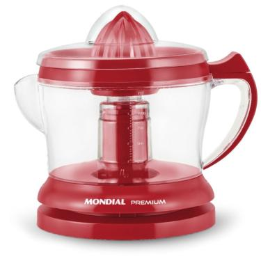 Imagem de Espremedor de Frutas Mondial E-23 Premium 30w - Vermelho