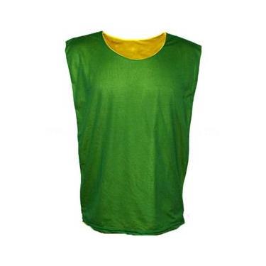 Colete dupla face para Treino - Verde x Amarelo 11bb8420535aa