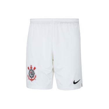 f6494705c4 Calção do Corinthians I 2018 Nike - Masculino - BRANCO PRETO Nike