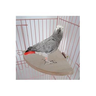 Ventilador De De madeira Papagaio Gaiola Pássaro Poleiros Suporte Plataforma Periquito Pet Periquito Budgie Brinquedos