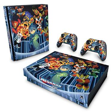 Skin Adesivo para Xbox One X - Megaman Legacy Collection