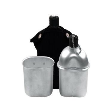 Cantil de Alumínio Echolife CF016 900ml com Copo - com Capa