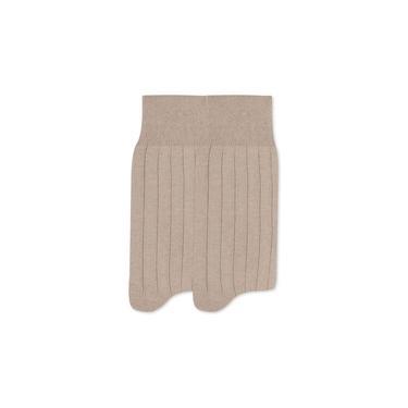 Kit com 2 pares meia mista canelada Mash 201.05