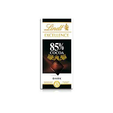 Tablete Chocolate Suíço Excellence 85% Cacau Dark 100g - Lindt